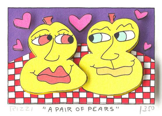 © James Rizzi:A Pair of Pears
