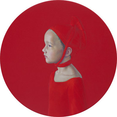 Salustiano: o. T. (red painting) 2015