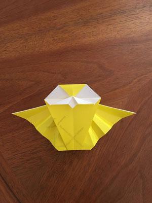 Origami-Menükarte