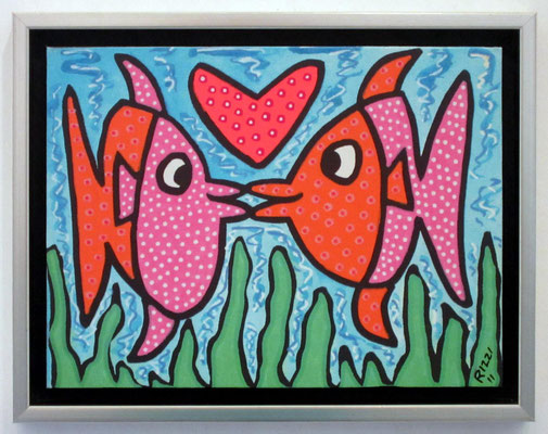 © James Rizzi:Kissie Fishie