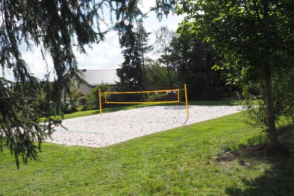 Gelände – Beachvolleyball-Feld