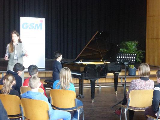 """Schulkonzert """"Virtuosen von morgen"""", Dortmund, Germany"""