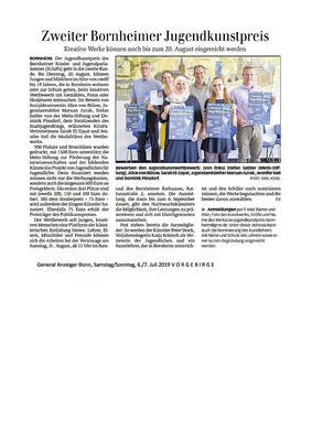 Generalanzeiger Bonn, 6./7. Juli 2019