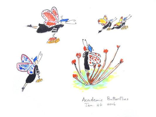 Academic Butterflies