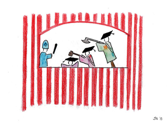 Punch and Judy on Campus March 20 2015