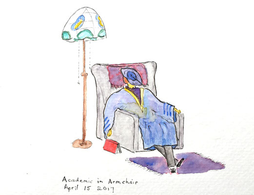 Academic in Armchair April 15 2017
