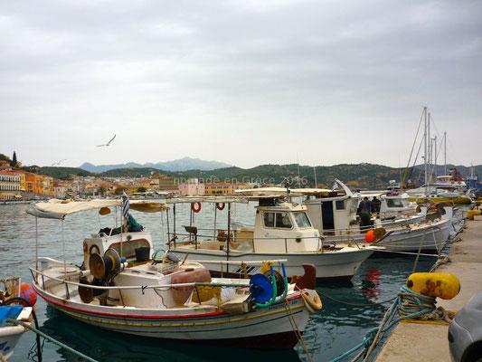 Le port de Gythio