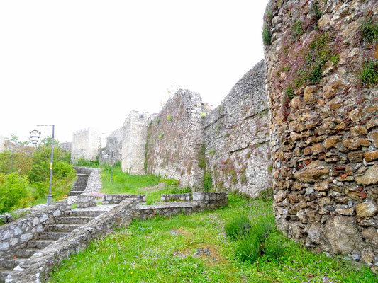 La muraille d'Ohrid