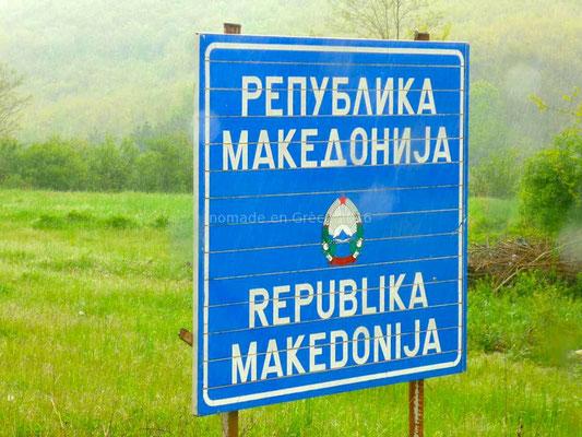 Et nous voici en Macédoine.