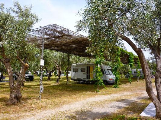 Camping Meltemi à Gythio