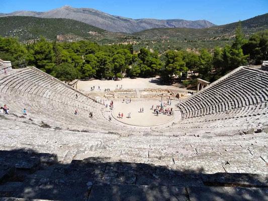 Le théâtre d'Epidaure