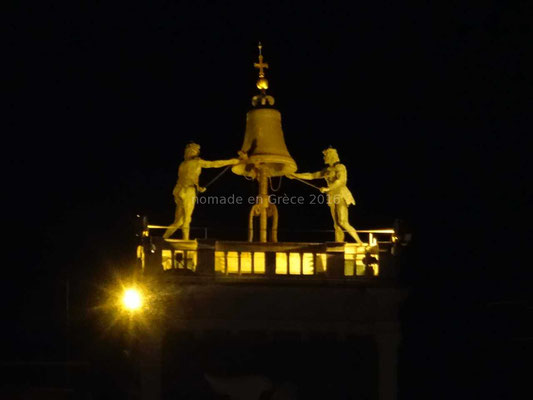 Jaquemart de la Tour de l'Horloge sur la place Saint-Marc
