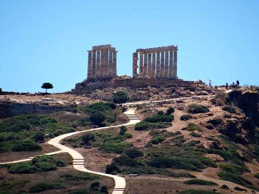 Au Cap Sounio, le Temple de Poséidon