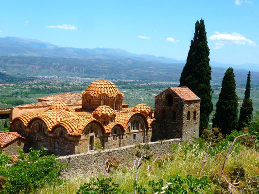 Mystras - La cathédrale Agios Dimitrios