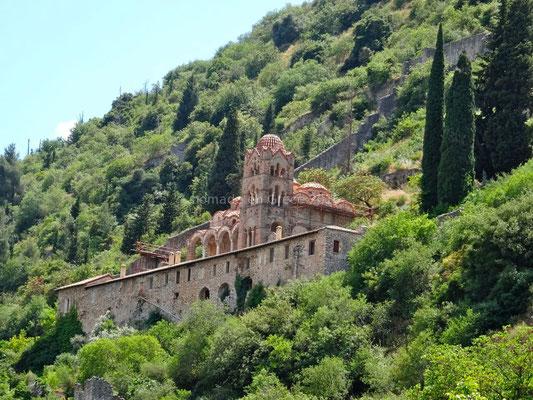 Mystras - Monastère de la Pantassana