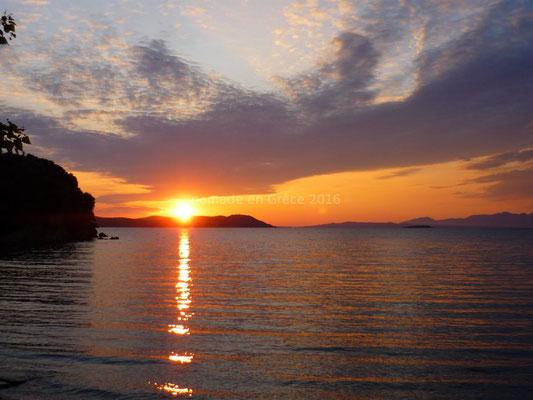 Coucher de soleil sur Vonitsa