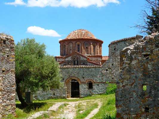 Mystras - Eglise des Saints-Théodores