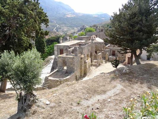 L'ancien monastère de Préveli