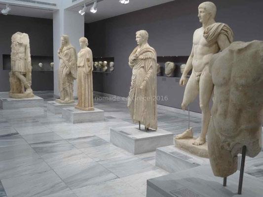 Musée d'Héraklion, statues