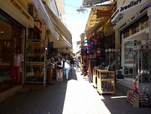 Haniá, la rue du cuir.