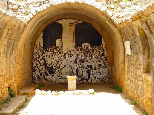 Monastère d'Arkadi, la poudrière