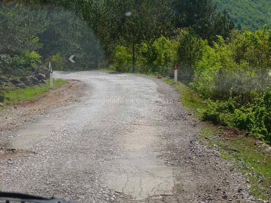 Sur ces routes les moyennes ne sont pas élevées.
