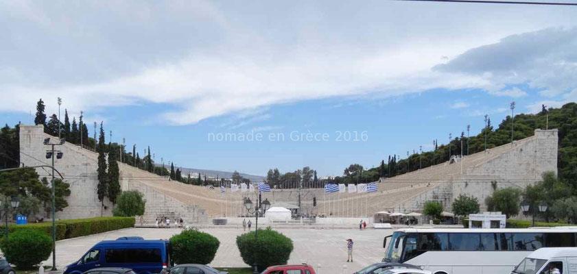 Le stade où eurent lieu les premiers Jeux Olympiques modernes