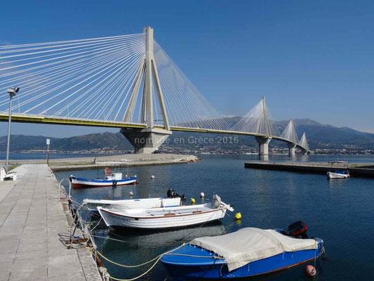 Le pont Charilaos Trikoupis