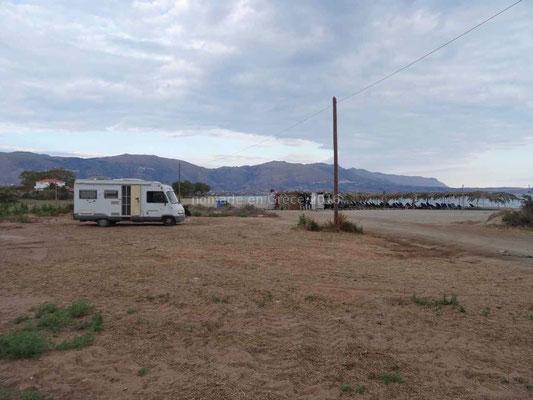 Bivouac à Agios Apostoli
