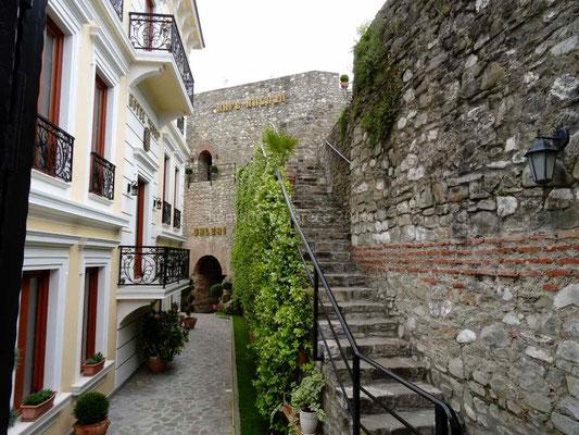 Dans la citadelle d'Elbasan