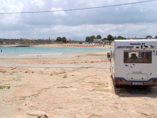 Stavros, plage où a été tourné le film Zorba le Grec