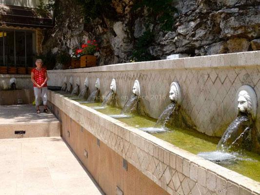 Les fontaines vénitiennes de Spili