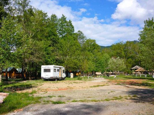 Camping Peshku à Germenij