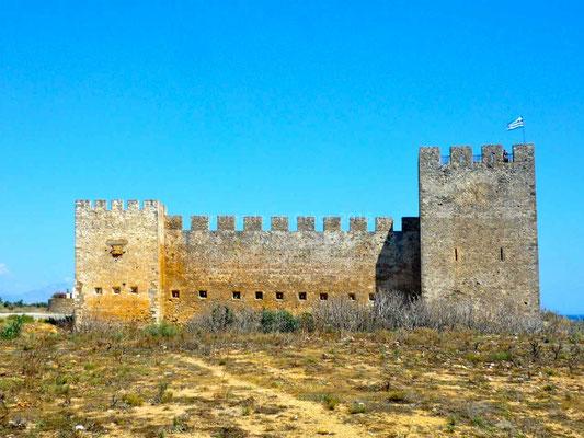 Le château de Fragkokastello.