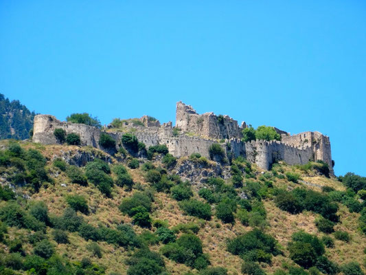 Mystras - La forteresse