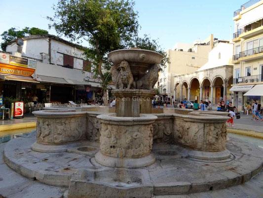 Héraklion, fontaine Morosini
