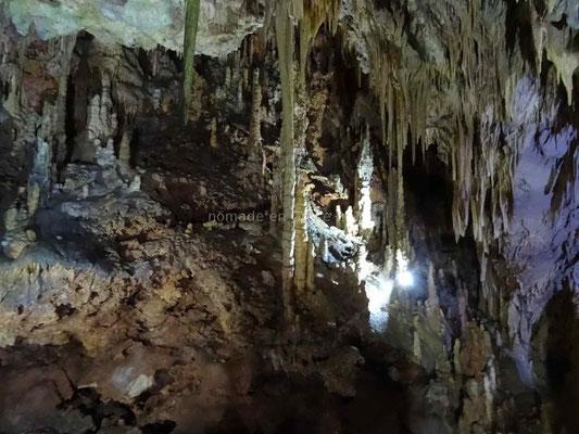 Les grottes de Diros