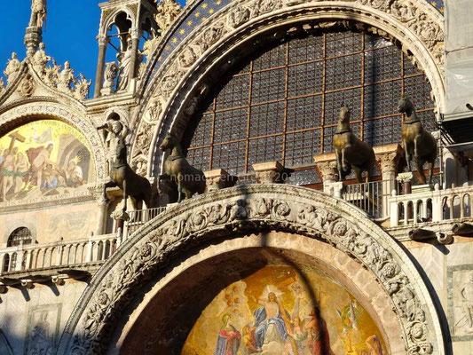 Détail de la basilique Saint-Marc