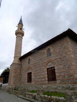 Mosquée dans la citadelle d'Elbasan.