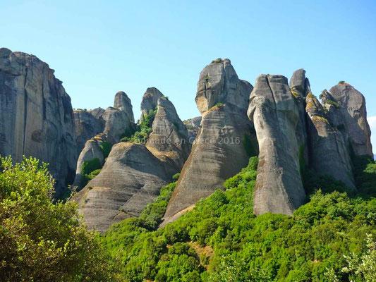 Ici la nature a sculpté des paysages grandioses