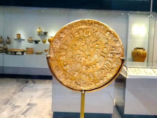 Musée d'Héraklion, disque de Phaistos