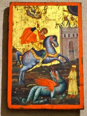 St Georges terrassant le dragon
