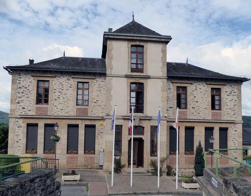 La mairie de Flagnac