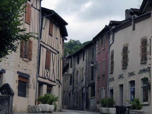 Les rues de Flagnac