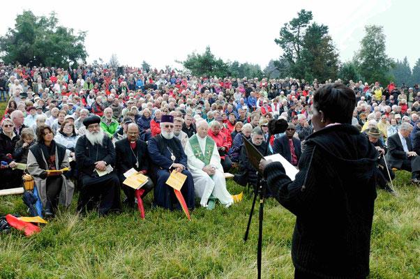 Lesung des Evangeliums durch Dr. Agnes Abuom, Kenia