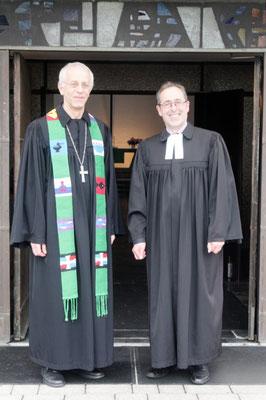 Probst Wöllenstein und Dekan Köhler