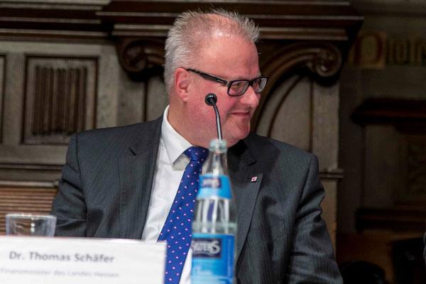 Dr. Thomas Schäfer, Finanzminister des Landes Hessen