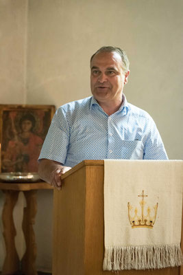 Bürgermeister Klaus Gier