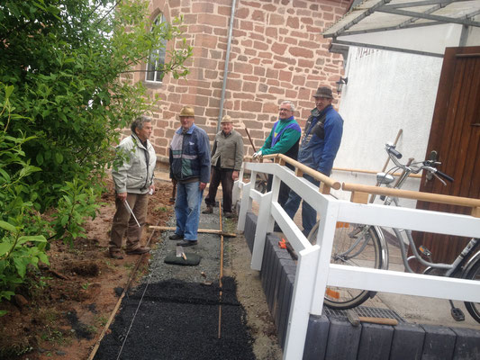Adam Klein, Heinrich Schmidt, Heinrich Vollmer, Werner Schilhabl, Peter Schleich (Foto: Wiegand Schütz)