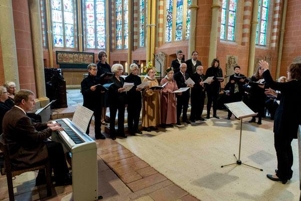 Die Kantorei der Stiftskirche
